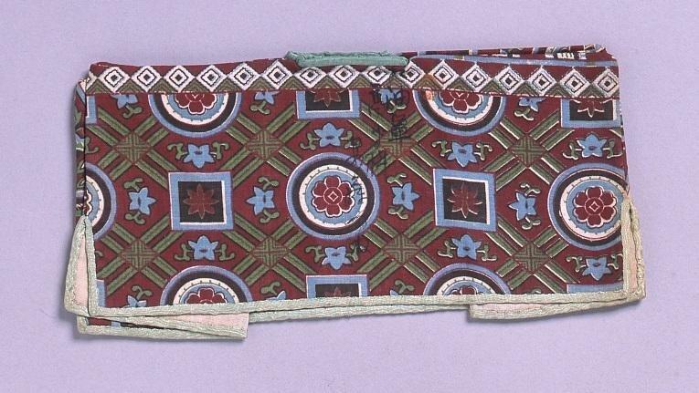 作品画像:裁縫雛形 油単(手縫)