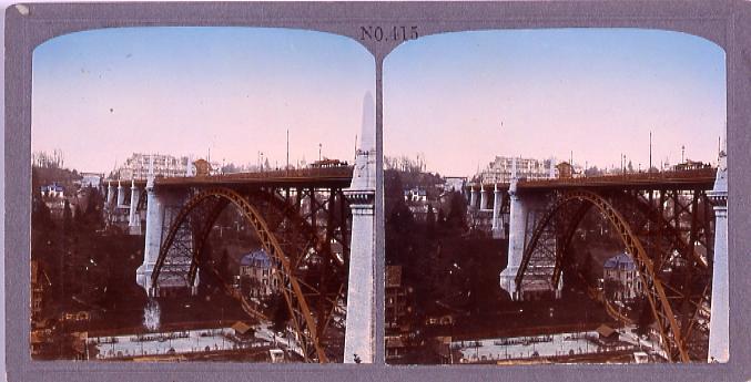作品画像:ベルン市(スイス)コルンハウス橋(No.415)