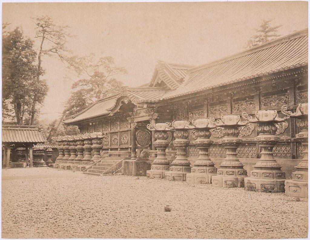 作品画像:増上寺中門 左右廊(近景)