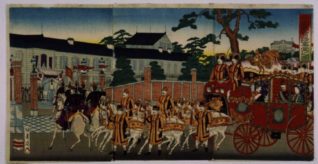 作品画像:帝国議会議事堂之図