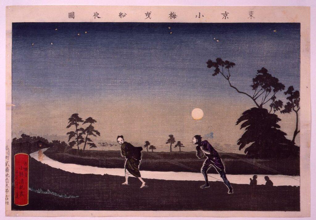 作品画像:東京小梅曳舟夜図