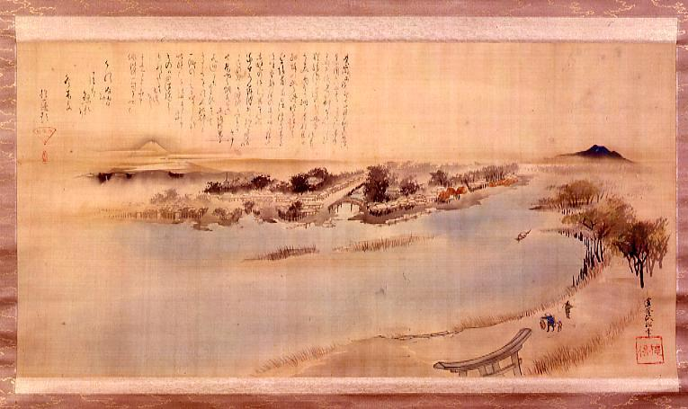 作品画像:墨田川遠望図