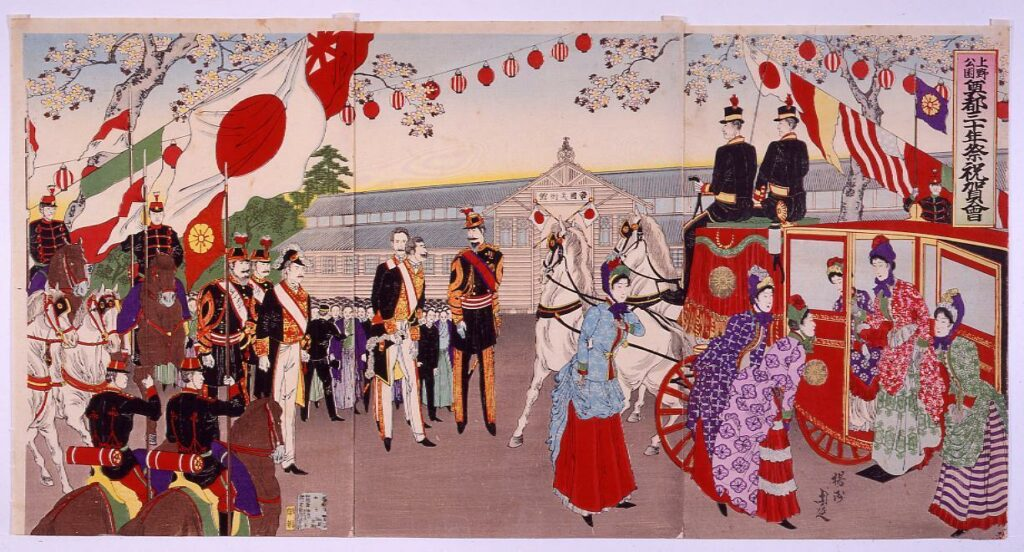 上野公園奠都三十年祭祝賀会