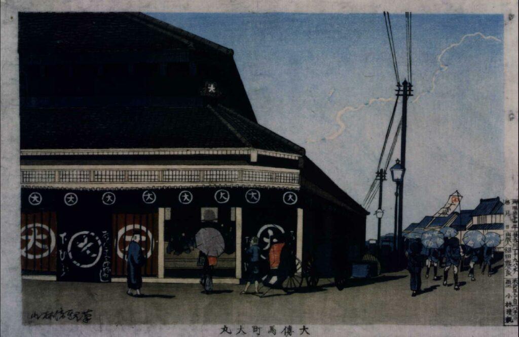 作品画像:大傳馬町大丸