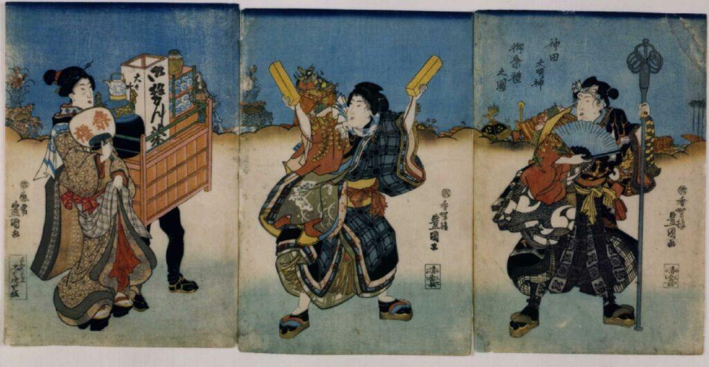 作品画像:神田大明神御祭礼之図