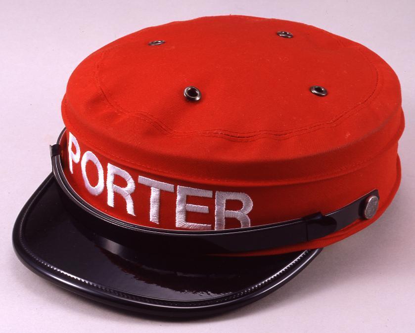 作品画像:赤帽制服 帽子