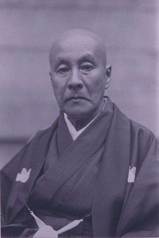 作品画像:川村清雄肖像(喜寿記念)