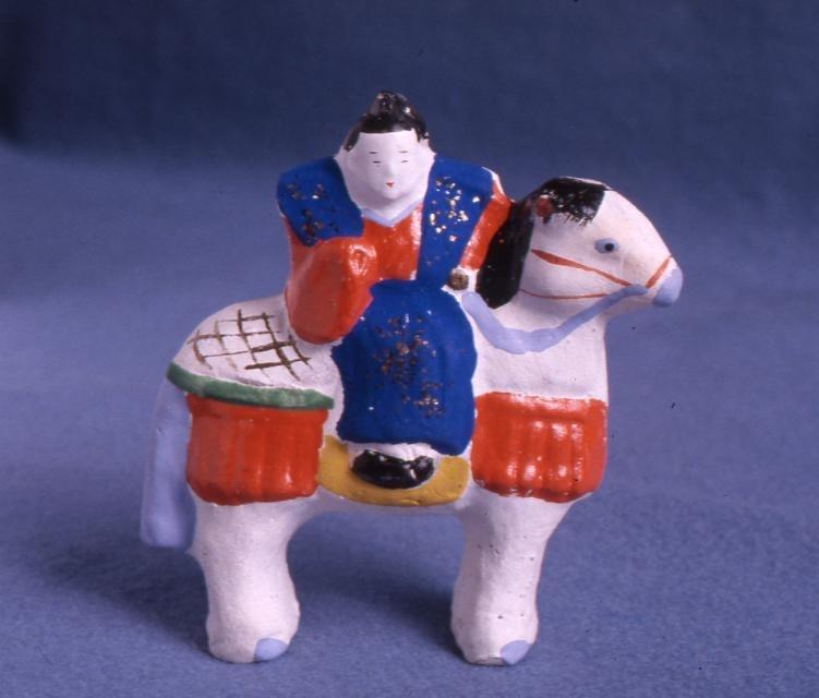 作品画像:今戸人形 小性馬