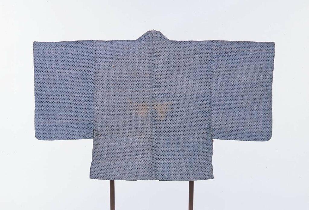 紙衣 羽織(亀甲・草穂模様)