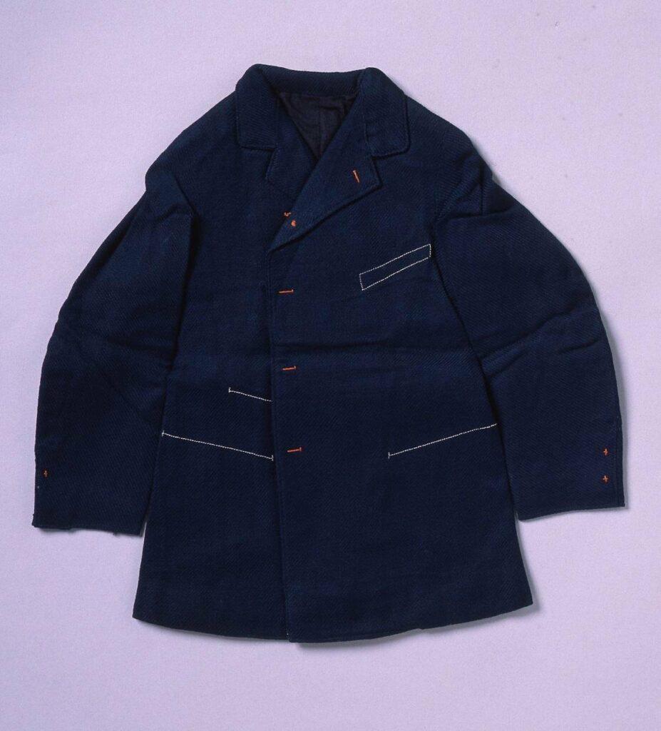 作品画像:裁縫雛形 サックコート(ミシン縫)