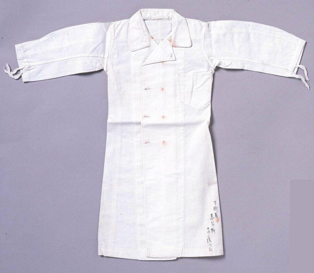 作品画像:裁縫雛形 手術着(ミシン縫)
