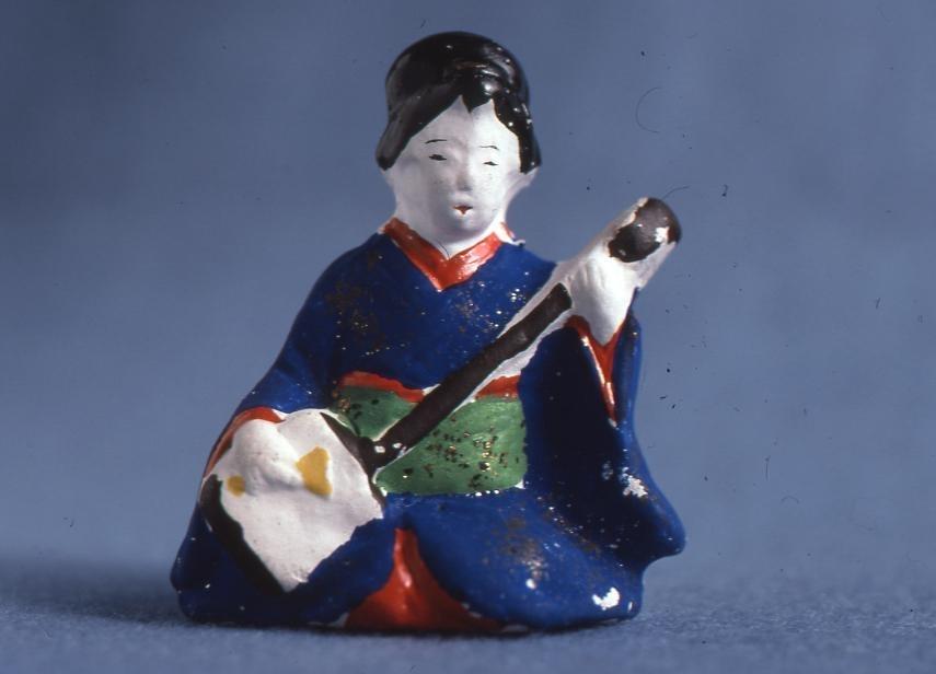 作品画像:今戸人形 おけい子(小)