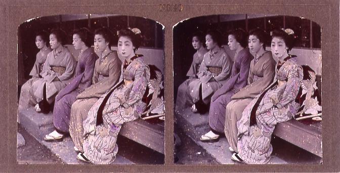 作品画像:芸者(No.40)