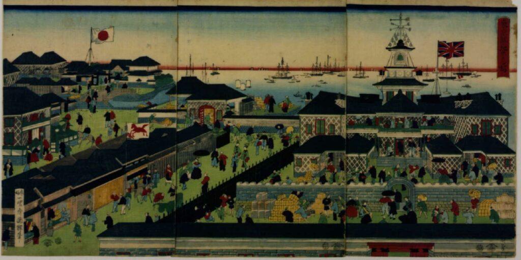 作品画像:東京築地ホテル館